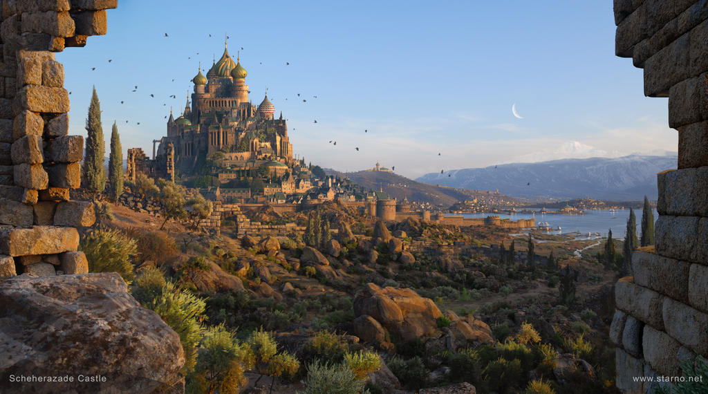 Scheherazade Castle of One Thousand and One Nights