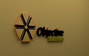 Logo objective solutions by beothorn