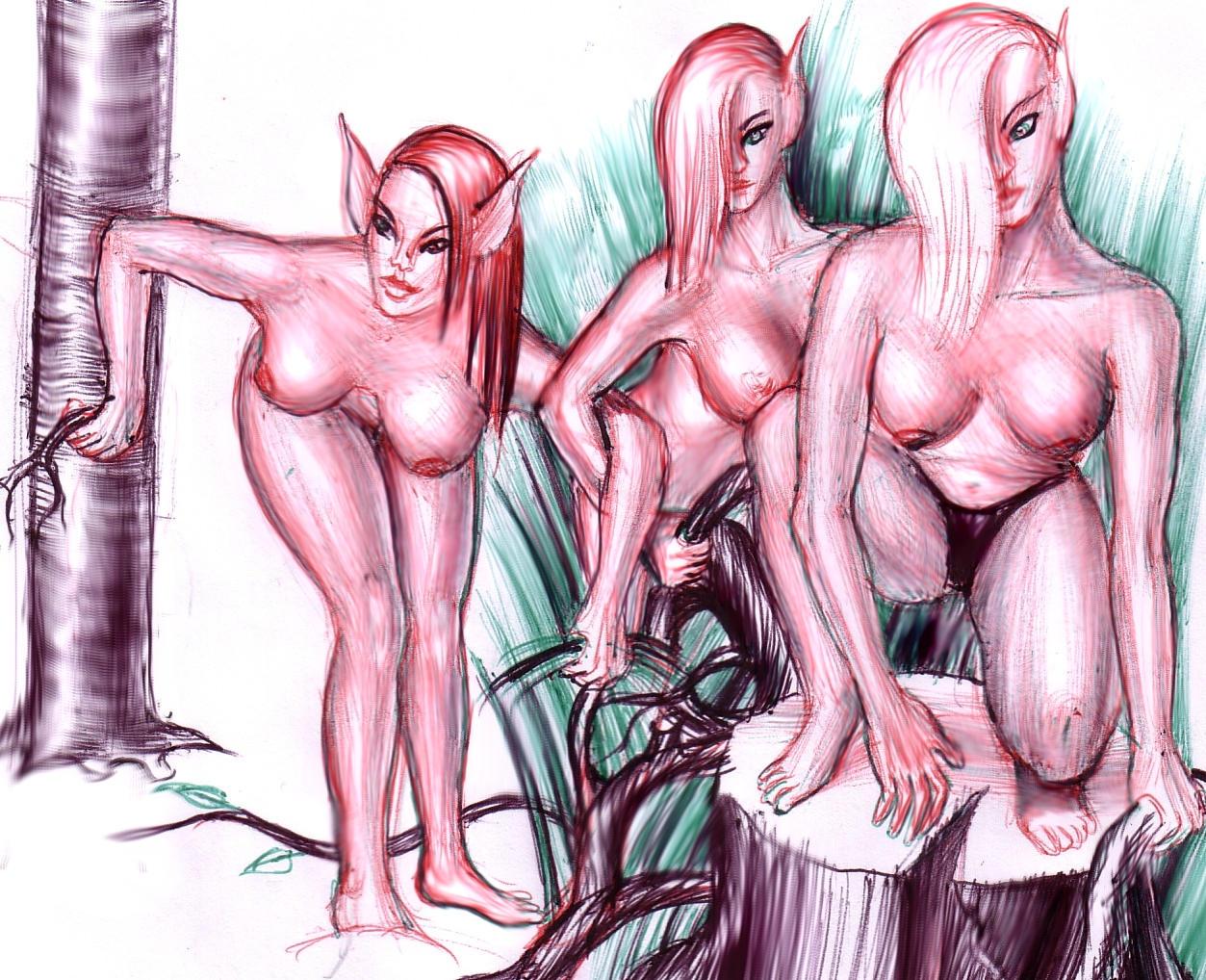 Alien women naked porn videos
