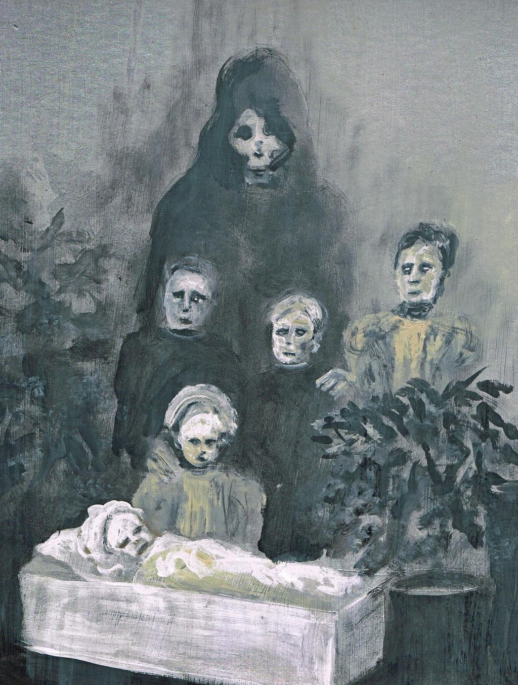 The Shadow of Death by Blackbirdmotel