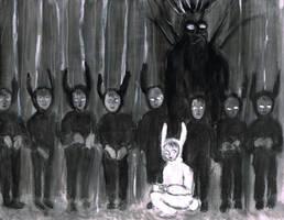 Little Bunnies by Blackbirdmotel