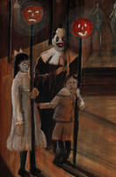 A Clown at Midnight by Blackbirdmotel