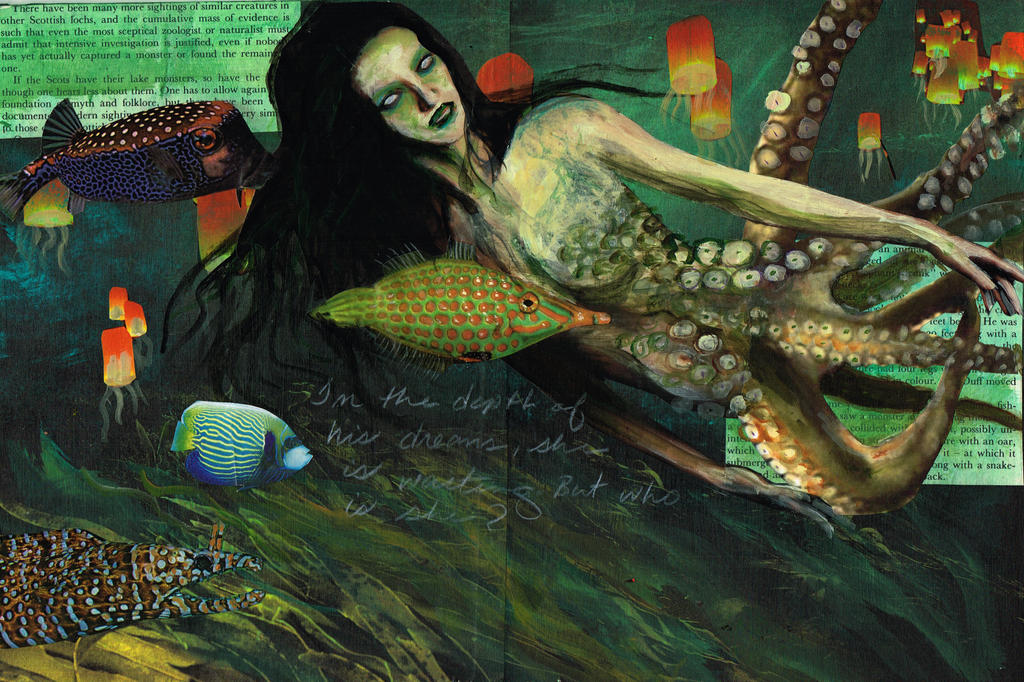 Denizens of the Deep by Blackbirdmotel