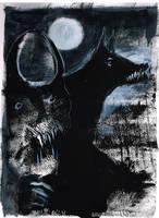 Shadow of the Black Dog by Blackbirdmotel