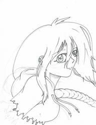 Akiko work in progress by enderman900