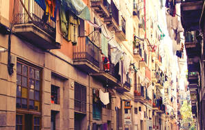Colorful Barcelona by VinaApsara