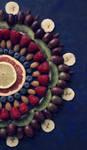 Fruit mandala - detail by VinaApsara
