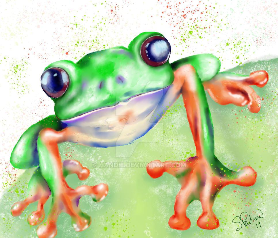 Frog Wc by Handie
