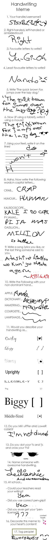 Handwriting Meme by Sissie131