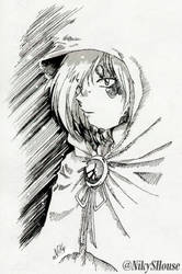 Zel in Black and White by NikySHouse