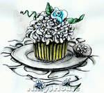 Inktober Day 22 - DESSERTS: Sugar Cake