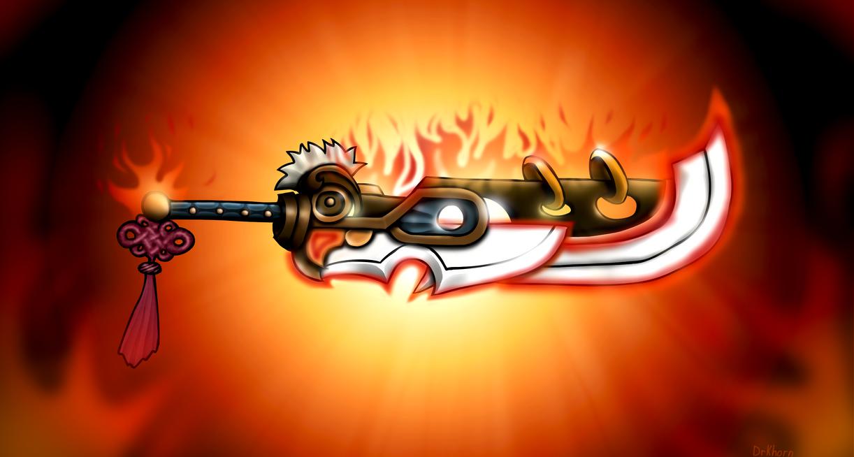Dragon Blade Riven By DrKhorn