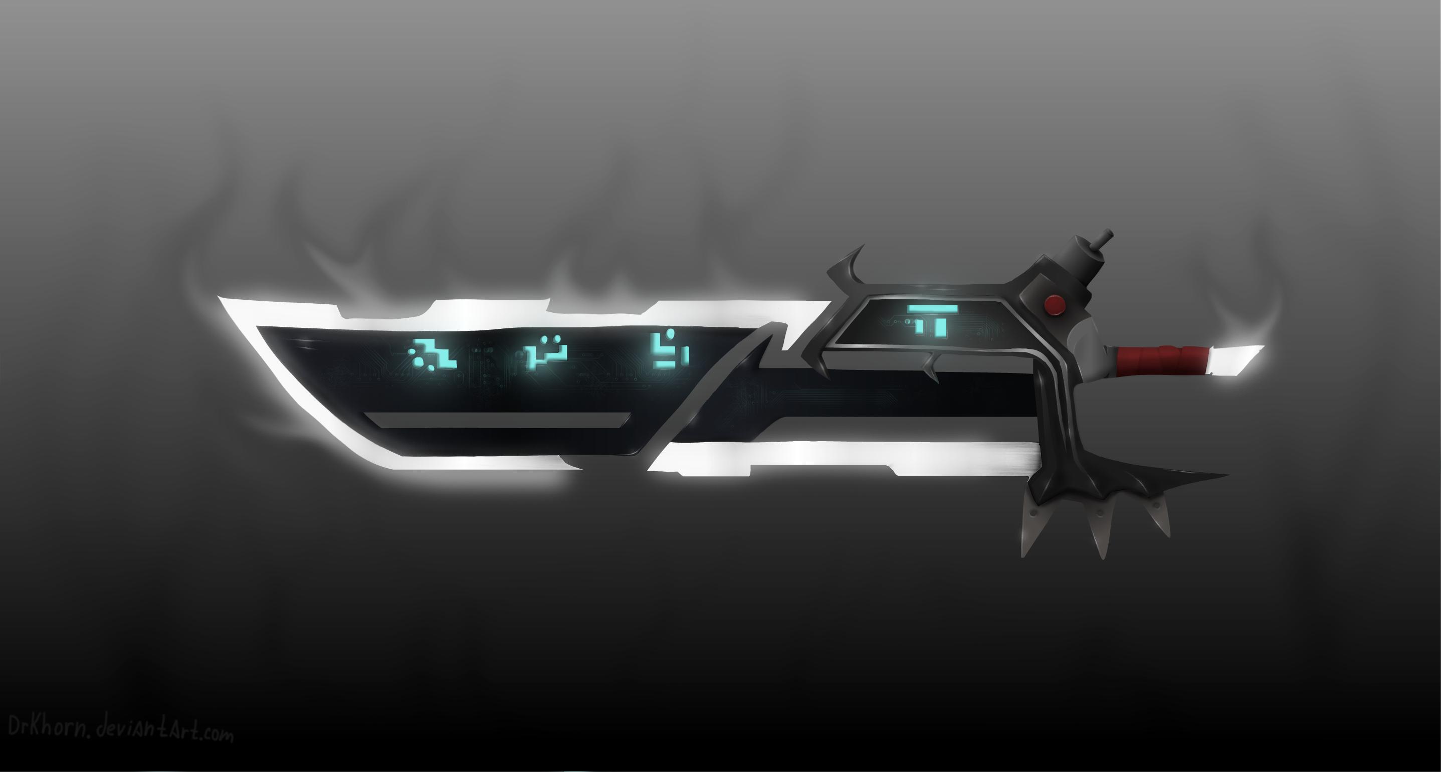 Crimson elite blade (Riven) by DrKhorn on DeviantArt