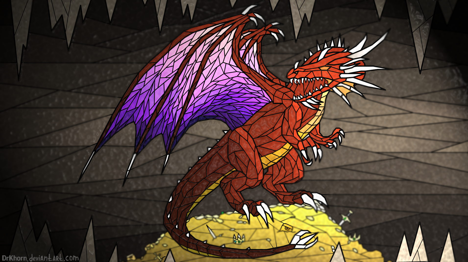 Red dragon by DrKhorn on DeviantArt