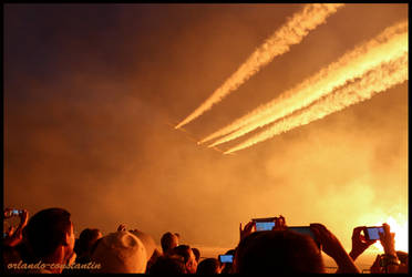 Air Bandits at Bucharest Air Show 2016 by orlando-constantin