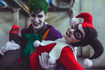 Joker and Harley Quinn Classic Costume Cosplay