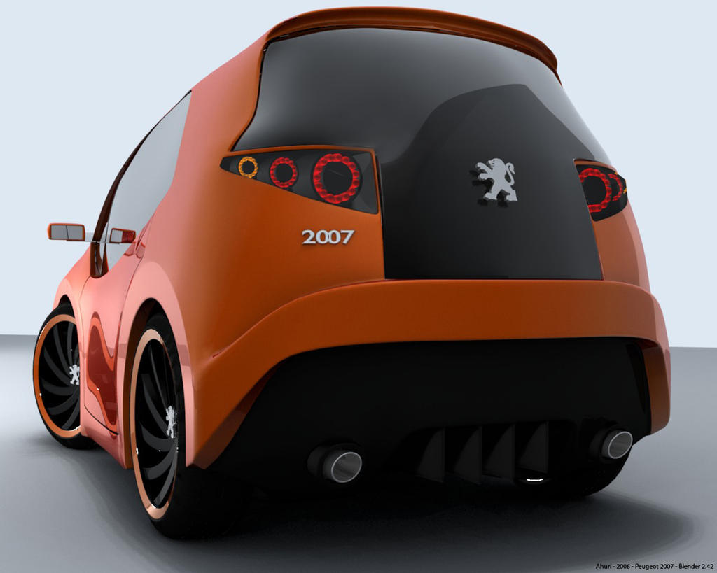Peugeot 2007 Concept by Ahuri