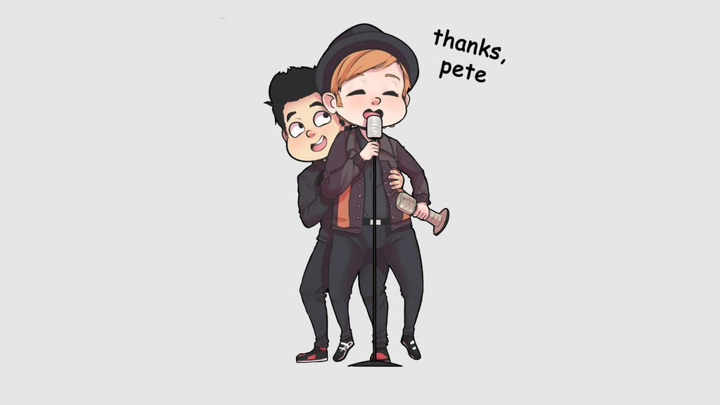 Fall Out Boy Wallpaper Cute By Naty The Puppet