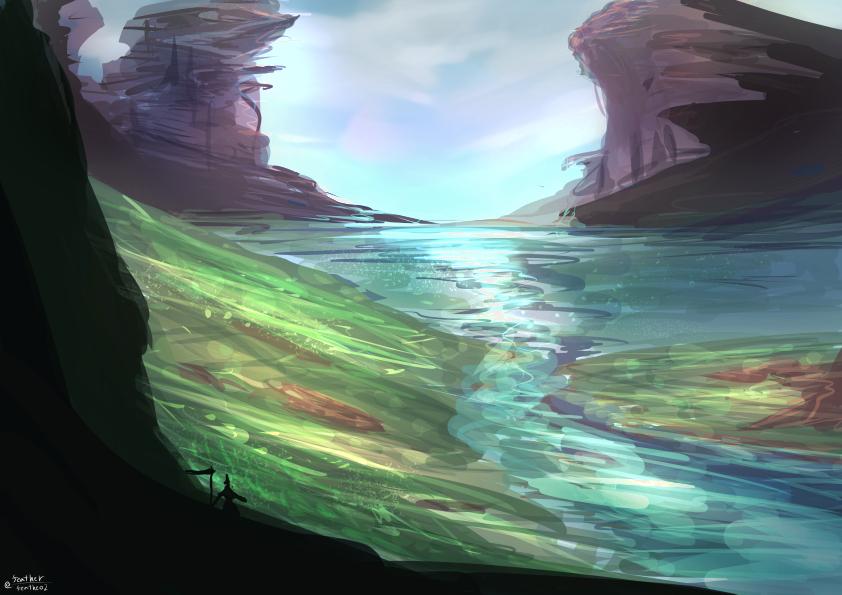 Creek by feathe02