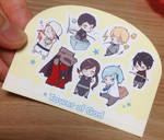 Tower of God chibi stickers