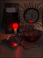 my desk 2 by janaschi