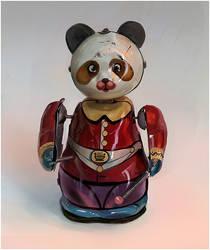 panda still life