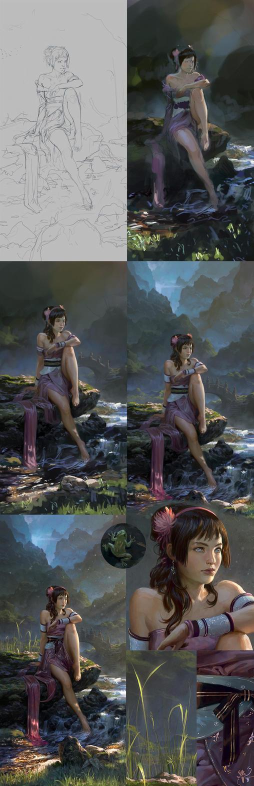 Toph - Steps by janaschi