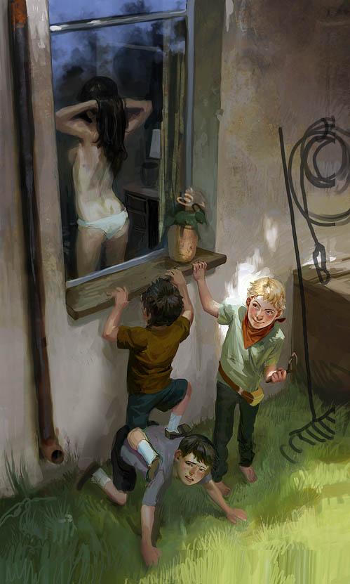 end of innocence by janaschi