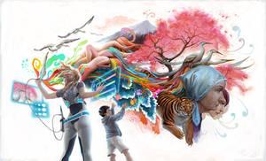 nextgen digital art by janaschi