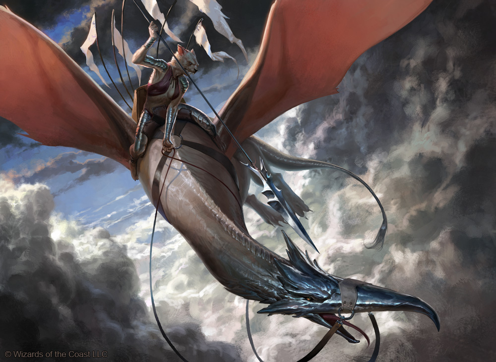 MtG: Leonin Skyhunter by janaschi