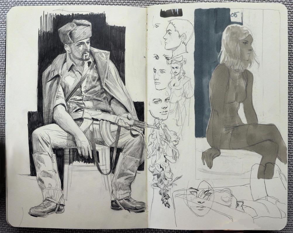 sketcheslalalaaa by janaschi