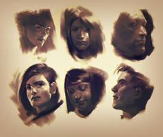 heads by janaschi