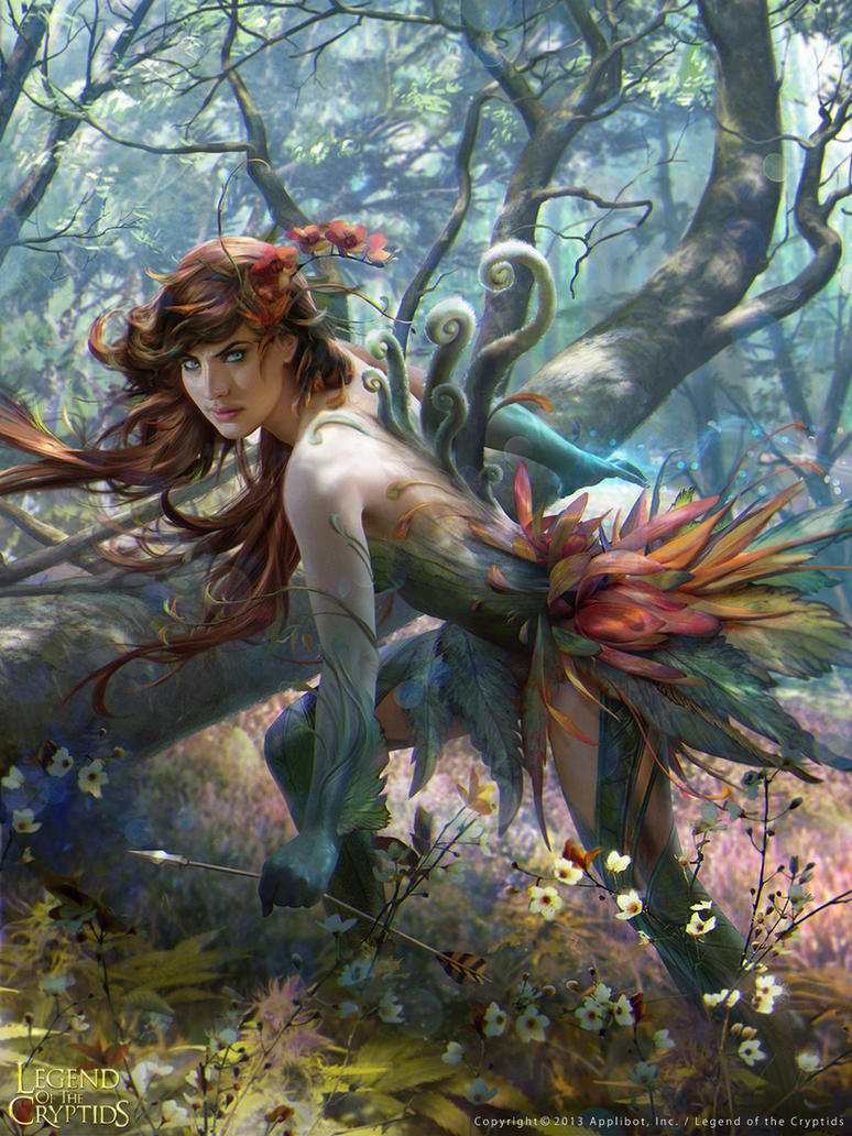 forest spirit 01 by janaschi