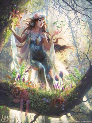 forest spirit 02 by janaschi