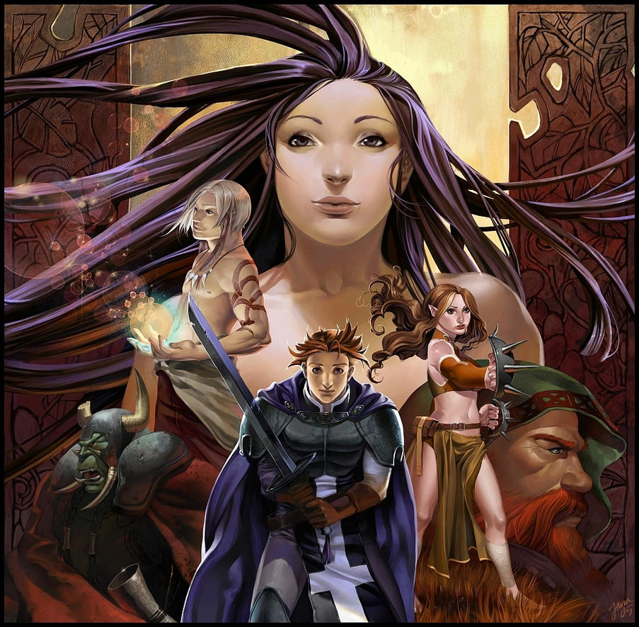 random fantasy by janaschi