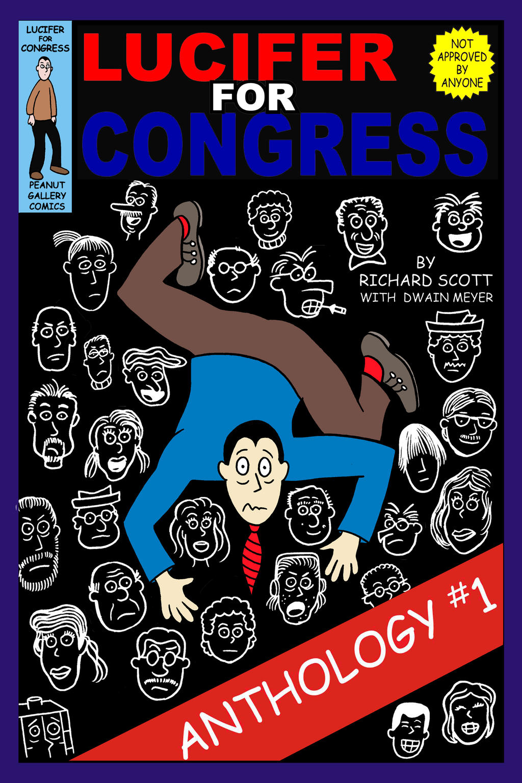 Lucifer for Congress: Anthology 1 Cover