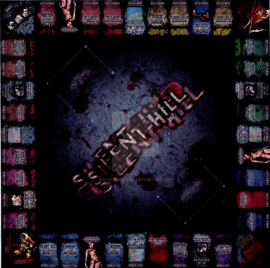 Silent Hill monopoly by Hazardmarine