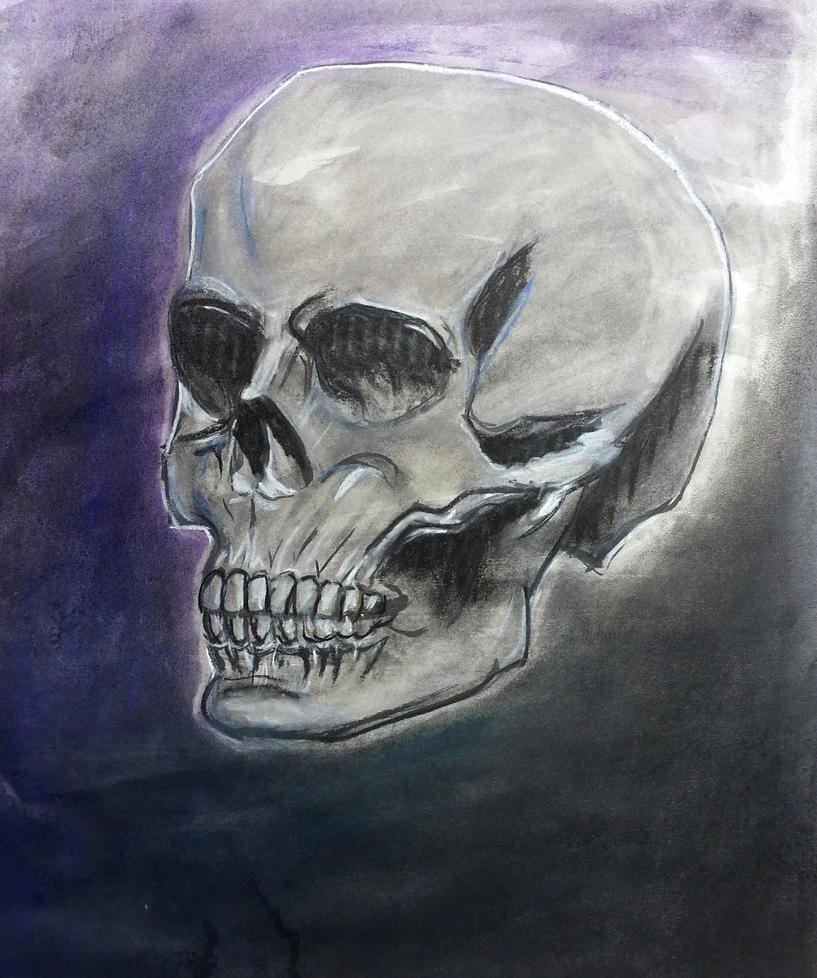 Skull by beckymew