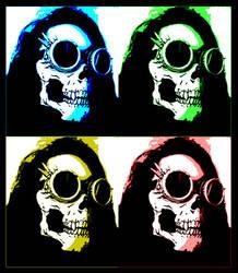 Some Color For Her Skull by BrainLessGirl