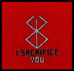I Sacrifice You by BrainLessGirl