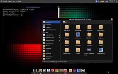 My Ubuntu 11.10 - October - 01 by gabeweb