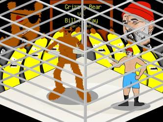Bill Murray vs. A Grizzly Bear