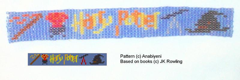 Harry Potter bookmark by Anabiyeni