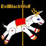 Carousel goat plush for EvilBlackWolf by Anabiyeni