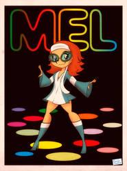 Disco Mel by Captain-Paulo