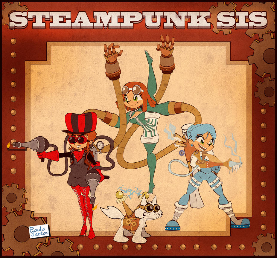Steampunk Sis by Captain-Paulo