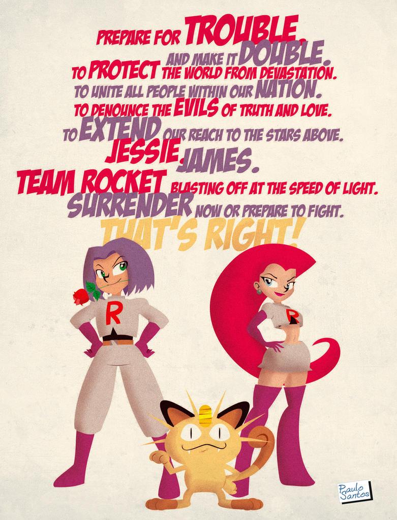 Team Rocket by Captain-Paulo