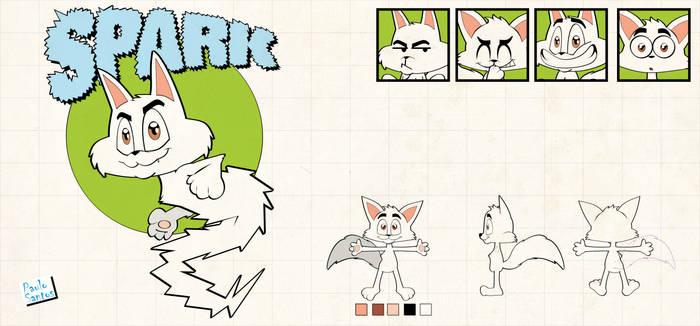 model sheet - Spark