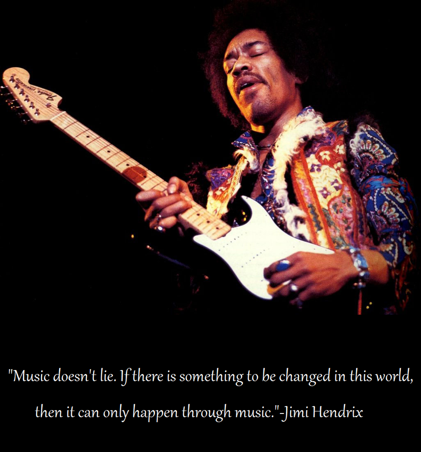Jimi Hendrix-Words of a Legend by alien500