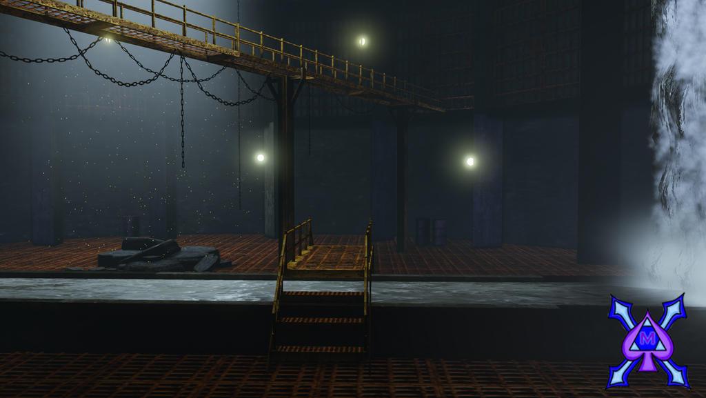 Batman Sewers scene (revised) by aceofspades230 on DeviantArt